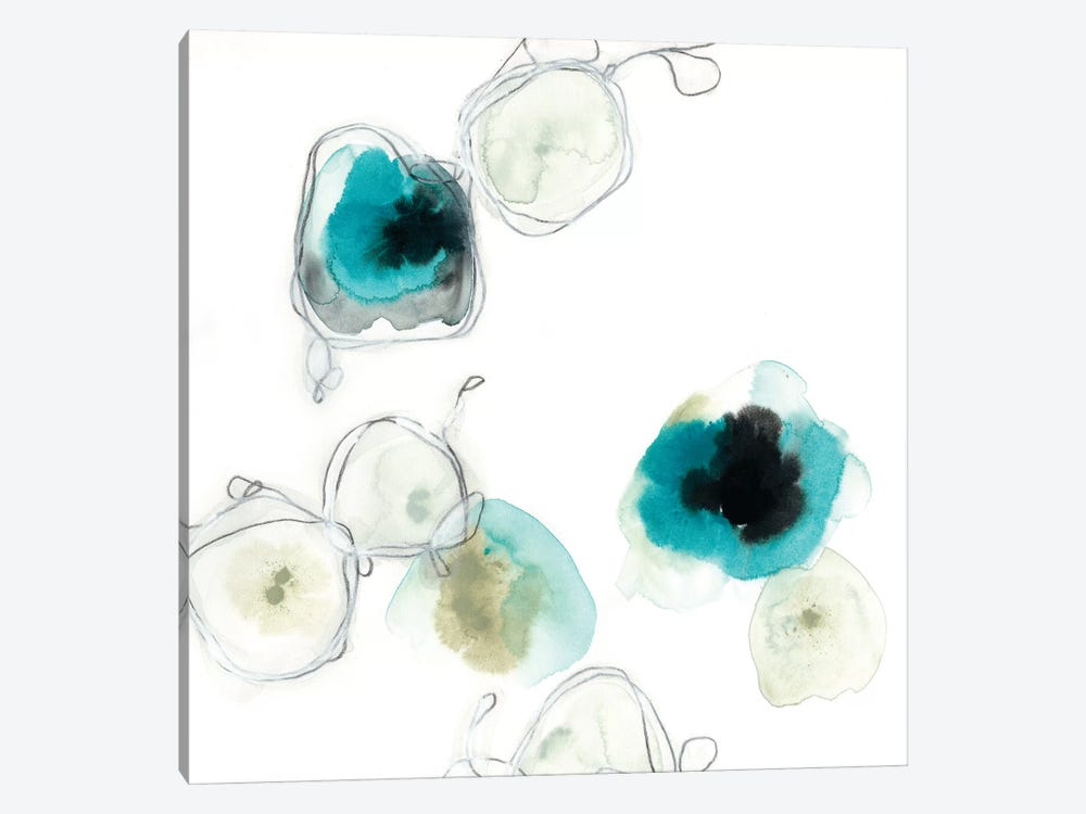 Microcosm III by June Erica Vess 1-piece Canvas Art