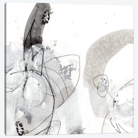 Monochrome Gestures III Canvas Print #VES140} by June Erica Vess Canvas Print