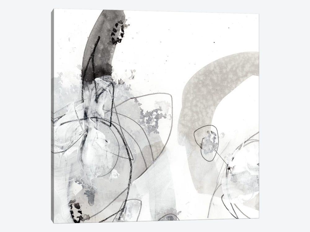 Monochrome Gestures III by June Erica Vess 1-piece Canvas Art Print