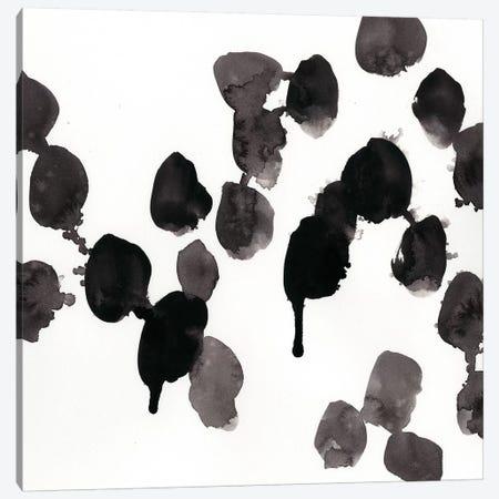 Monochrome Gestures VII Canvas Print #VES144} by June Erica Vess Canvas Art
