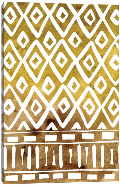 Mud Cloth Motif II Canvas Art Print