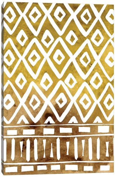 Mud Cloth Motif II Canvas Art Print