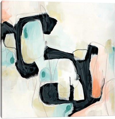 Pastel Horizon I Canvas Print #VES149