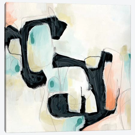 Pastel Horizon I Canvas Print #VES149} by June Erica Vess Canvas Art Print