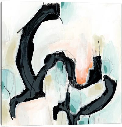 Pastel Horizon III Canvas Print #VES151
