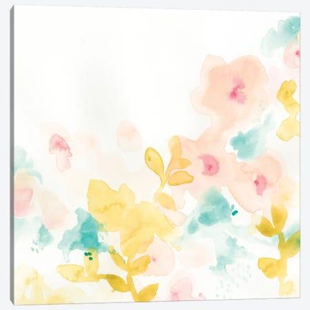 Petal Field I 3-Piece Canvas #VES153} by June Erica Vess Canvas Wall Art