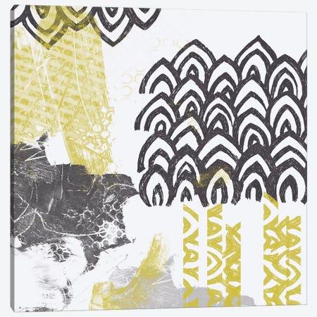Block Print Abstract I Canvas Print #VES15} by June Erica Vess Canvas Artwork