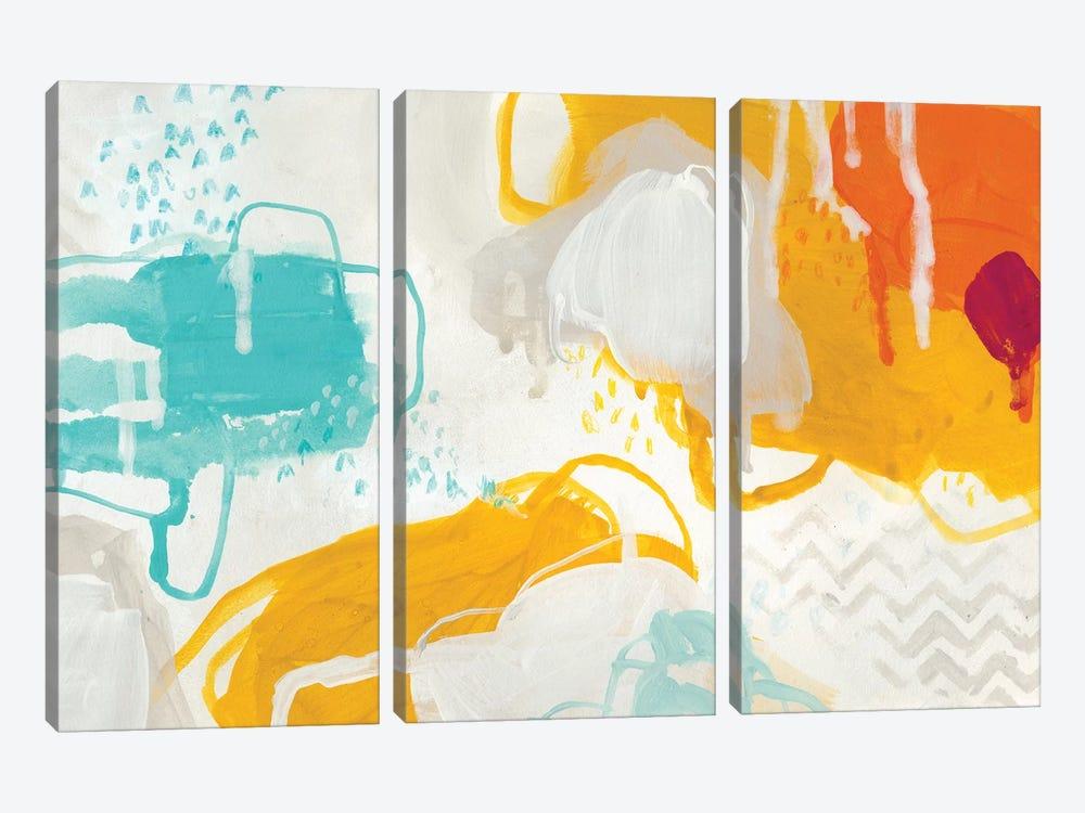 Playful Color II by June Erica Vess 3-piece Art Print