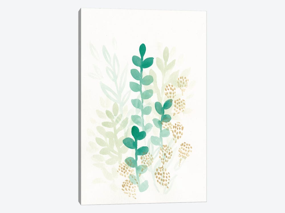 Sprout Flowers I by June Erica Vess 1-piece Canvas Wall Art