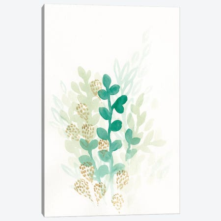 Sprout Flowers II Canvas Print #VES170} by June Erica Vess Canvas Artwork