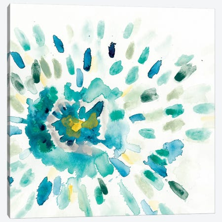 Starburst Floral I Canvas Print #VES171} by June Erica Vess Canvas Artwork