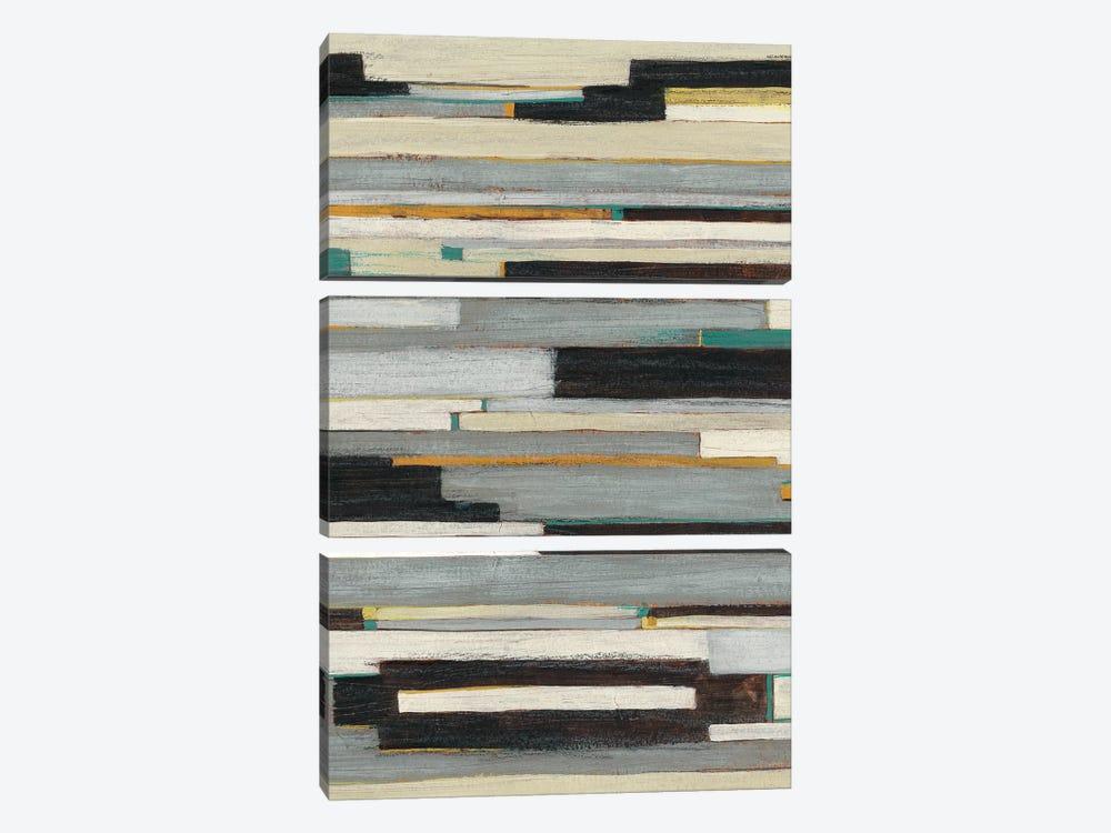 Textile Ratio I by June Erica Vess 3-piece Canvas Art Print