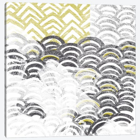 Block Print Abstract III Canvas Print #VES17} by June Erica Vess Canvas Wall Art