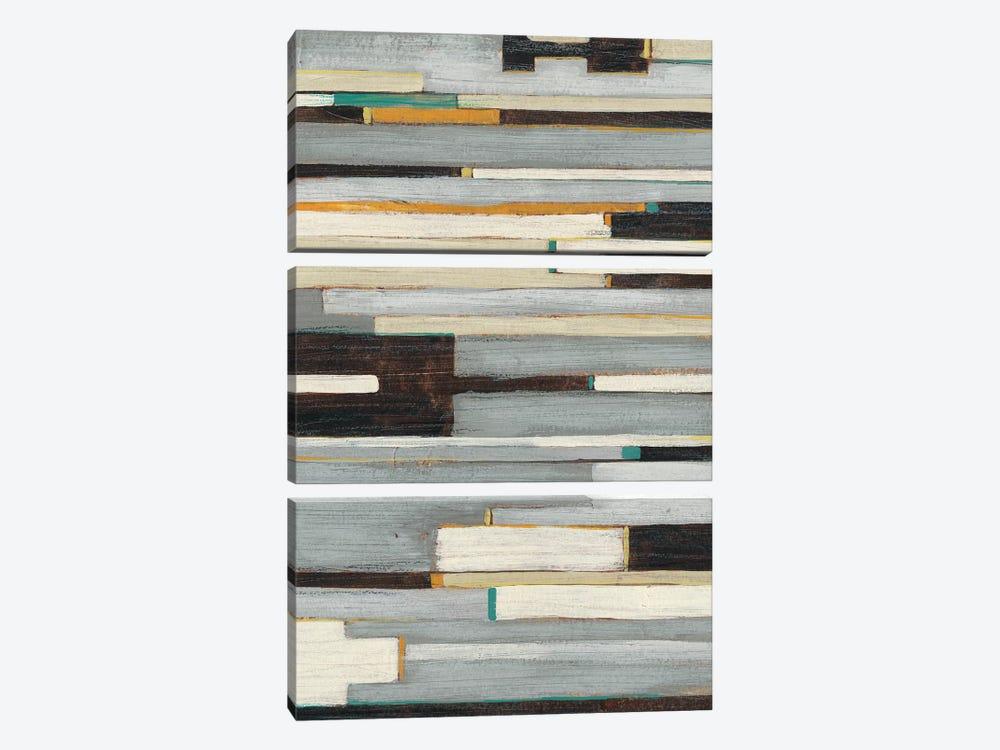 Textile Ratio II by June Erica Vess 3-piece Canvas Art Print