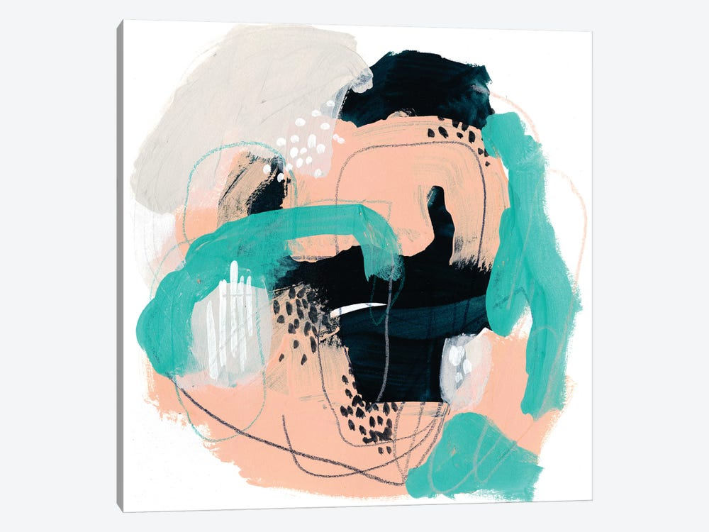 Torrent I by June Erica Vess 1-piece Canvas Artwork