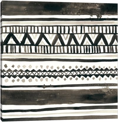 Tribal Echo I Canvas Art Print