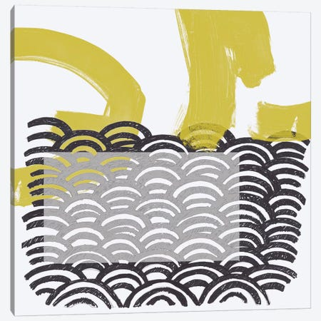 Block Print Abstract IV Canvas Print #VES18} by June Erica Vess Art Print
