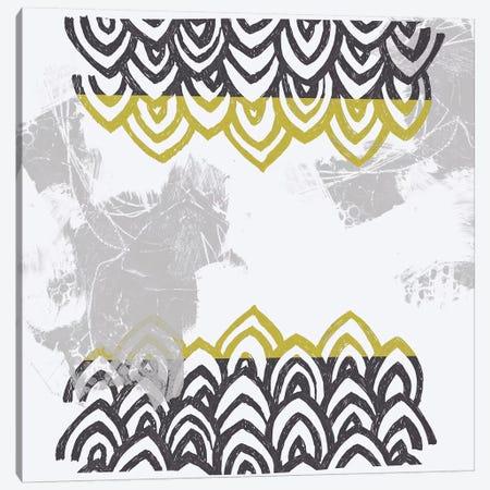 Block Print Abstract V Canvas Print #VES19} by June Erica Vess Canvas Print