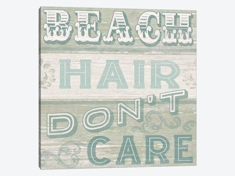 A Little Beachy I by June Erica Vess 1-piece Art Print