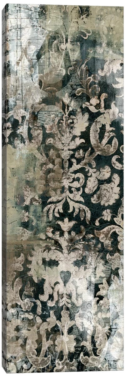 Weathered Damask Panel I Canvas Print #VES204
