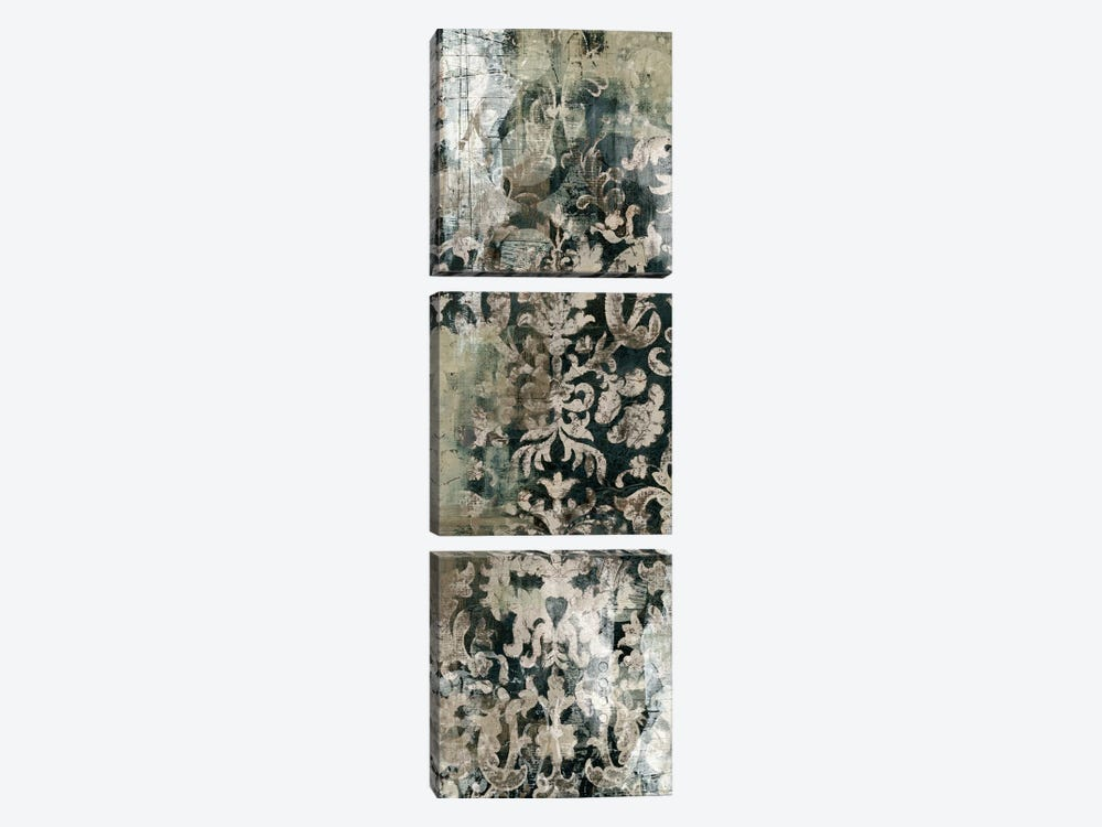 Weathered Damask Panel I 3-piece Art Print