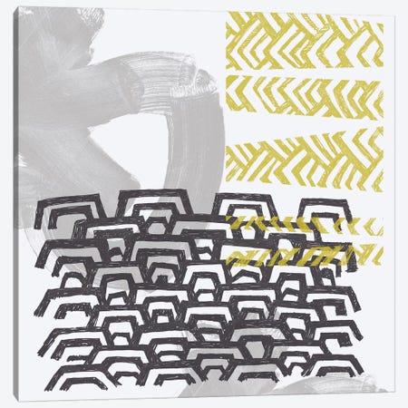 Block Print Abstract VI Canvas Print #VES20} by June Erica Vess Canvas Artwork