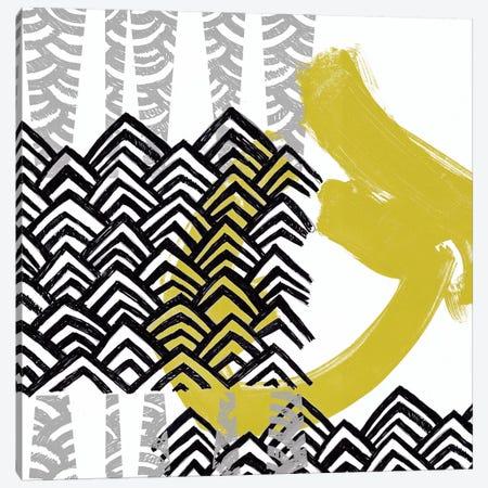 Block Print Abstract IX Canvas Print #VES23} by June Erica Vess Canvas Artwork