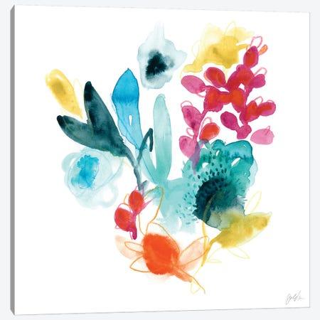 Bloom Spectrum I Canvas Print #VES24} by June Erica Vess Canvas Print