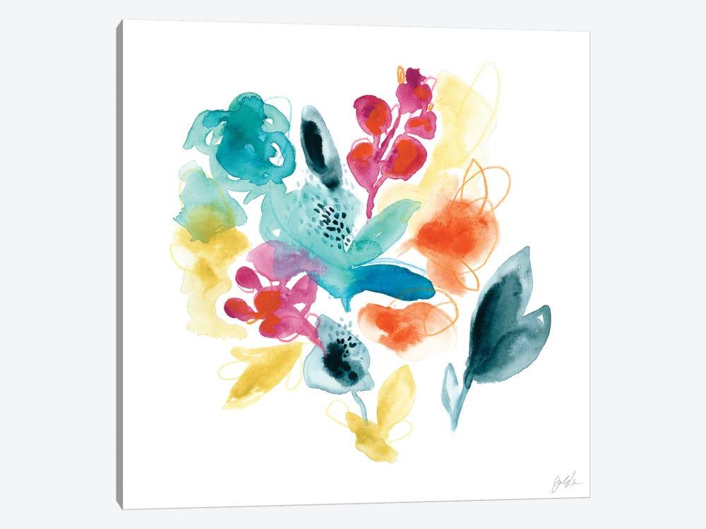 Bloom Spectrum II by June Erica Vess 1-piece Canvas Print