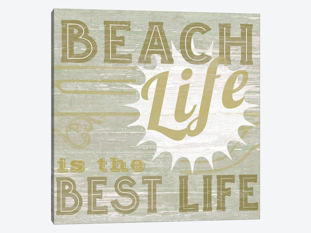 A Little Beachy II by June Erica Vess 1-piece Canvas Artwork