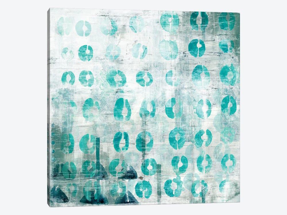 Blue Static I by June Erica Vess 1-piece Art Print