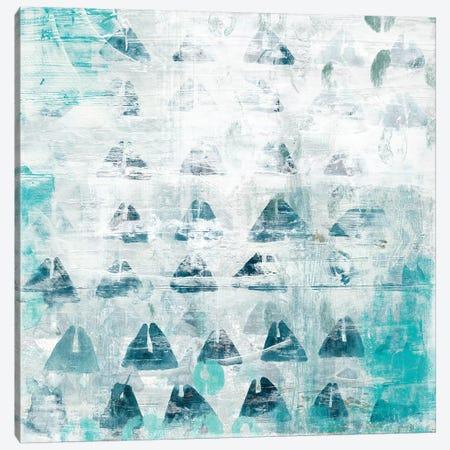 Blue Static II Canvas Print #VES31} by June Erica Vess Canvas Print