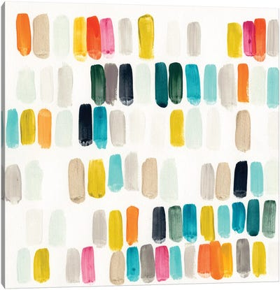 Bright Swatches I Canvas Art Print