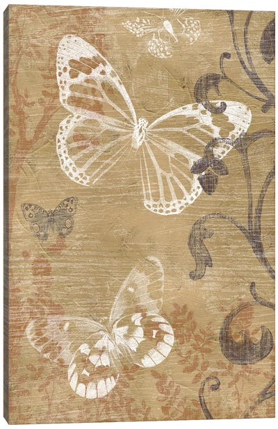 Butterfly Forest II Canvas Art Print