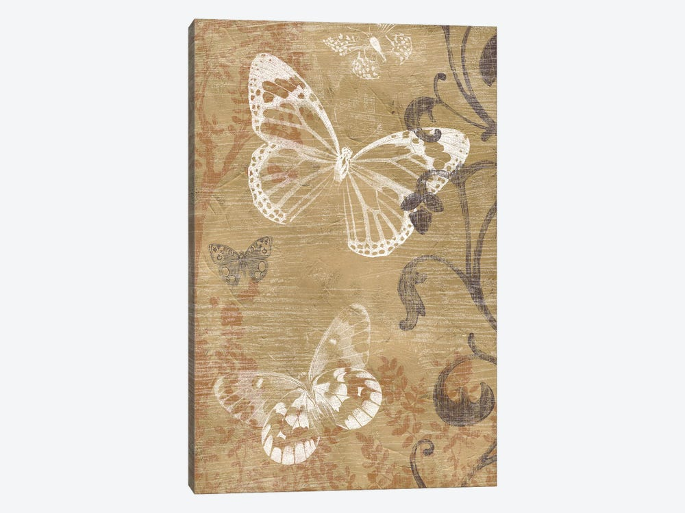 Butterfly Forest II by June Erica Vess 1-piece Canvas Print