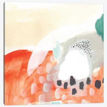 Chromatic Inference V Canvas Print #VES52} by June Erica Vess Art Print