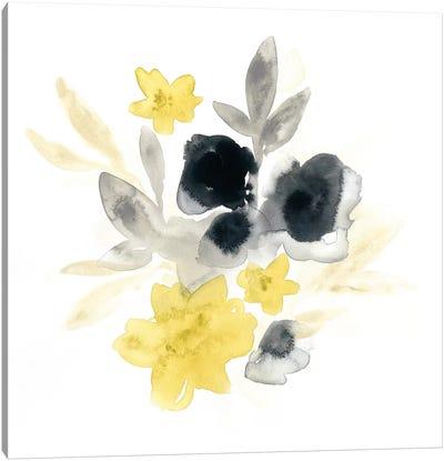 Citron Bouquet I Canvas Print #VES54