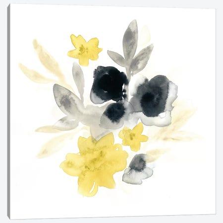 Citron Bouquet I Canvas Print #VES54} by June Erica Vess Canvas Artwork