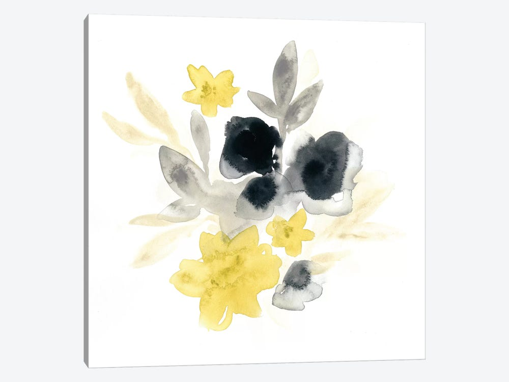 Citron Bouquet I by June Erica Vess 1-piece Canvas Art Print