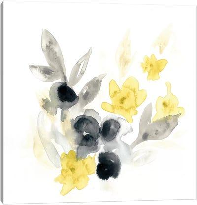 Citron Bouquet II Canvas Print #VES55