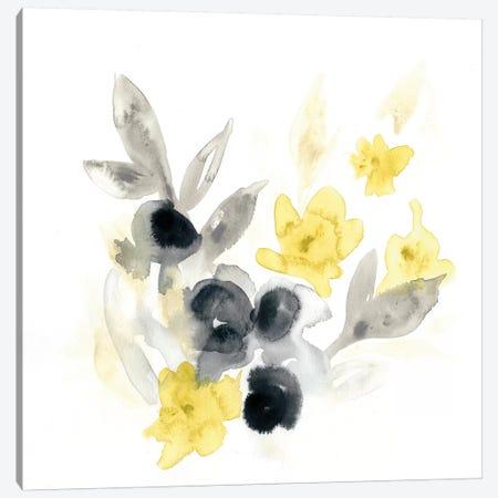 Citron Bouquet II Canvas Print #VES55} by June Erica Vess Canvas Artwork