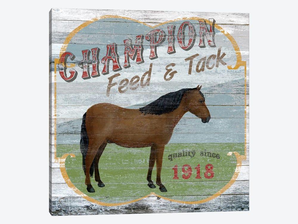 Farm Supply I by June Erica Vess 1-piece Canvas Art Print