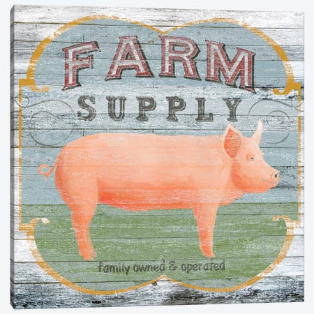 Farm Supply II Canvas Print #VES75} by June Erica Vess Canvas Wall Art