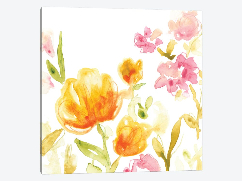 Floral Song I by June Erica Vess 1-piece Art Print