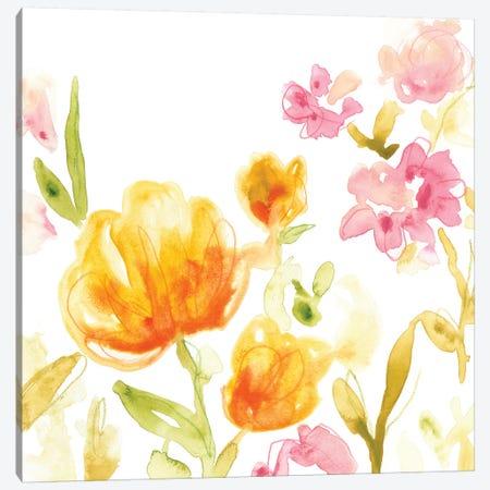 Floral Song I Canvas Print #VES78} by June Erica Vess Canvas Art Print