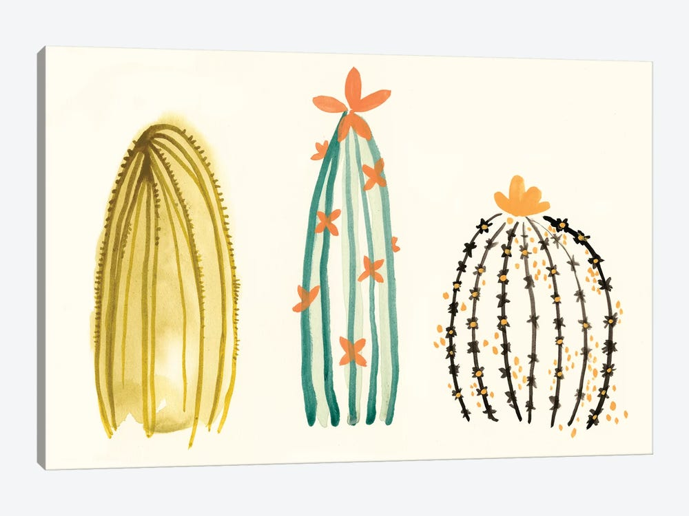 Funky Succulents II by June Erica Vess 1-piece Art Print