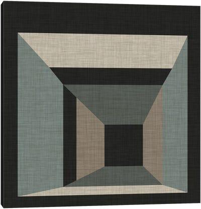 Geometric Perspective III Canvas Print #VES86