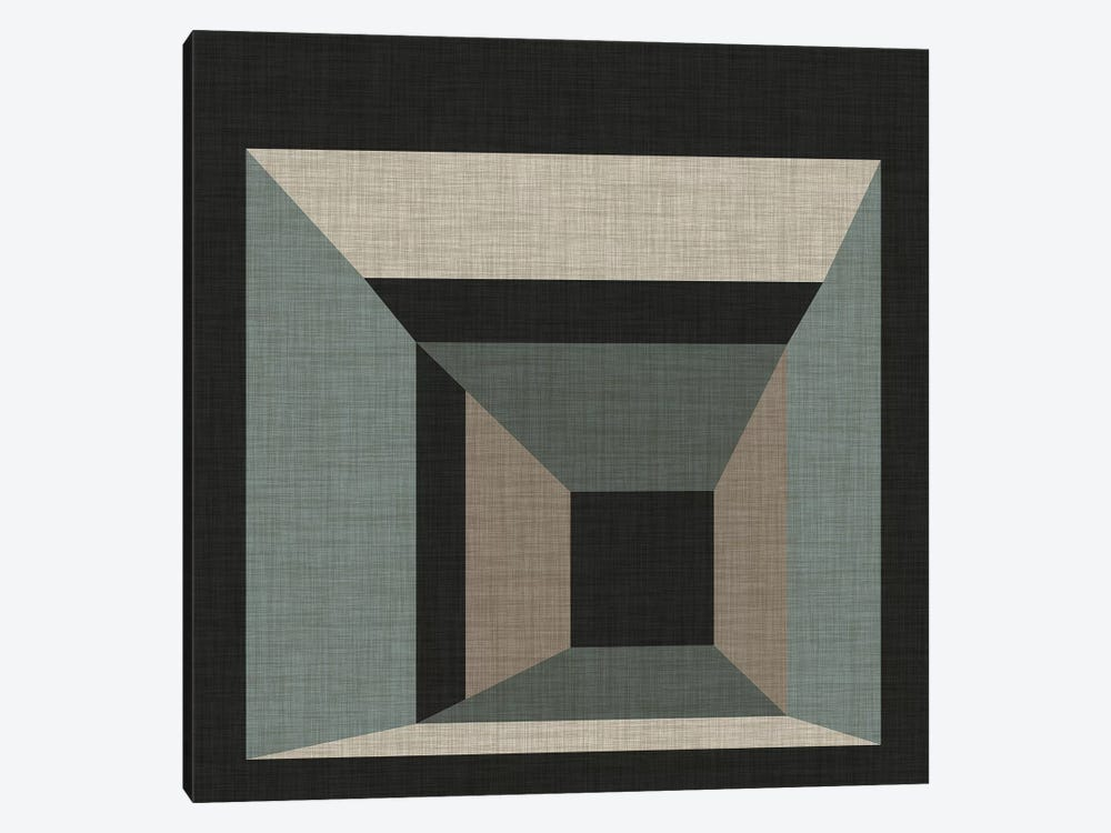 Geometric Perspective III by June Erica Vess 1-piece Canvas Wall Art
