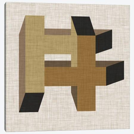 Geometric Perspective VI Canvas Print #VES89} by June Erica Vess Canvas Wall Art