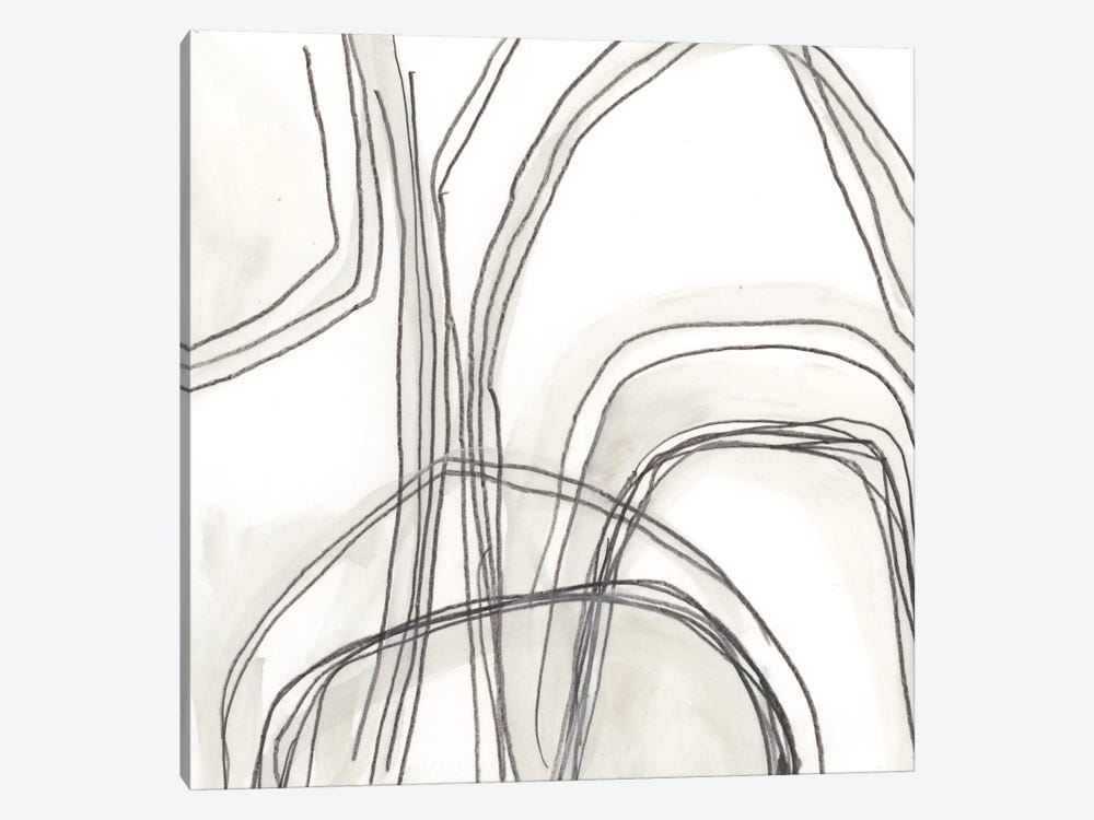 Abstract Logic IV by June Erica Vess 1-piece Canvas Wall Art
